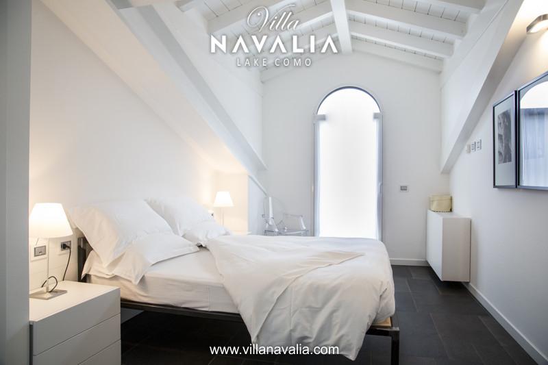 villa Navalia penthouse luxe apartment Menaggio lake Como